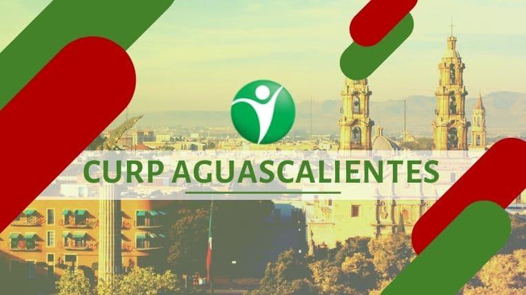 Oficinas CURP en la ciudad de Aguascalientes, México