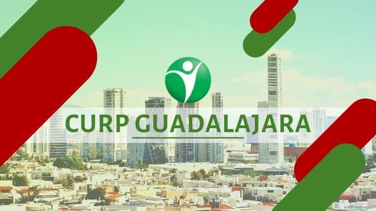 Oficinas CURP en la ciudad de Guadalajara, México