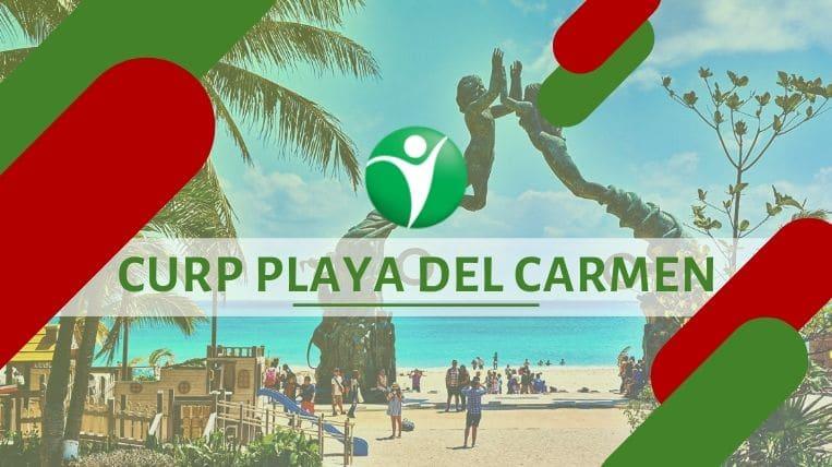 Oficinas CURP en la ciudad de Playa del Carmen, México
