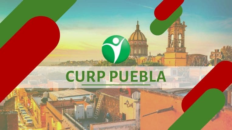 Oficinas CURP en la ciudad de Puebla, México
